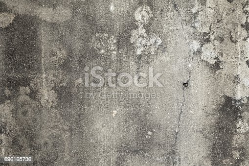 Textured background Old cement wall dirty empty.