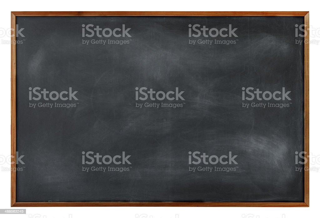 Brun texture de tableau noir avec bordure - Photo