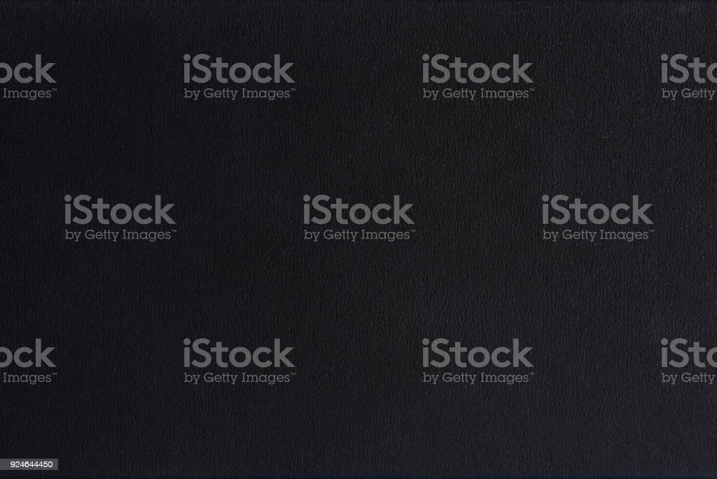 Textured blank black paper background stock photo