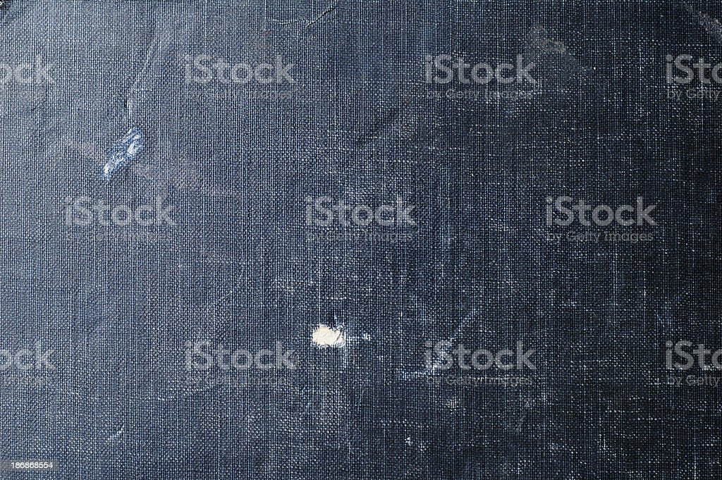 Textured Blue Grunge Background (Book Cover) royalty-free stock photo