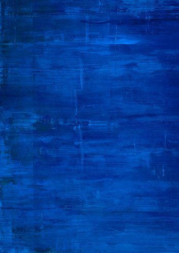 Textured Blue Paint Background Stock Photo - Download Image Now
