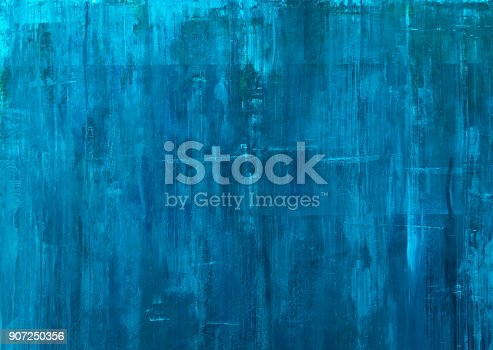 istock textured blue paint background 907250356