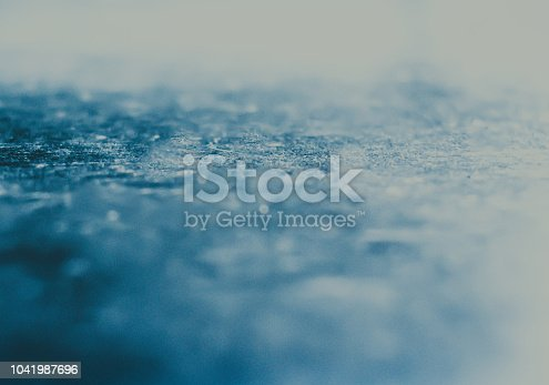 istock Textured blue painted background 1041987696