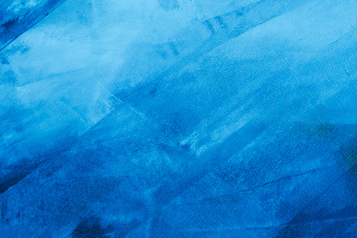 istock Textured blue painted background 534129318