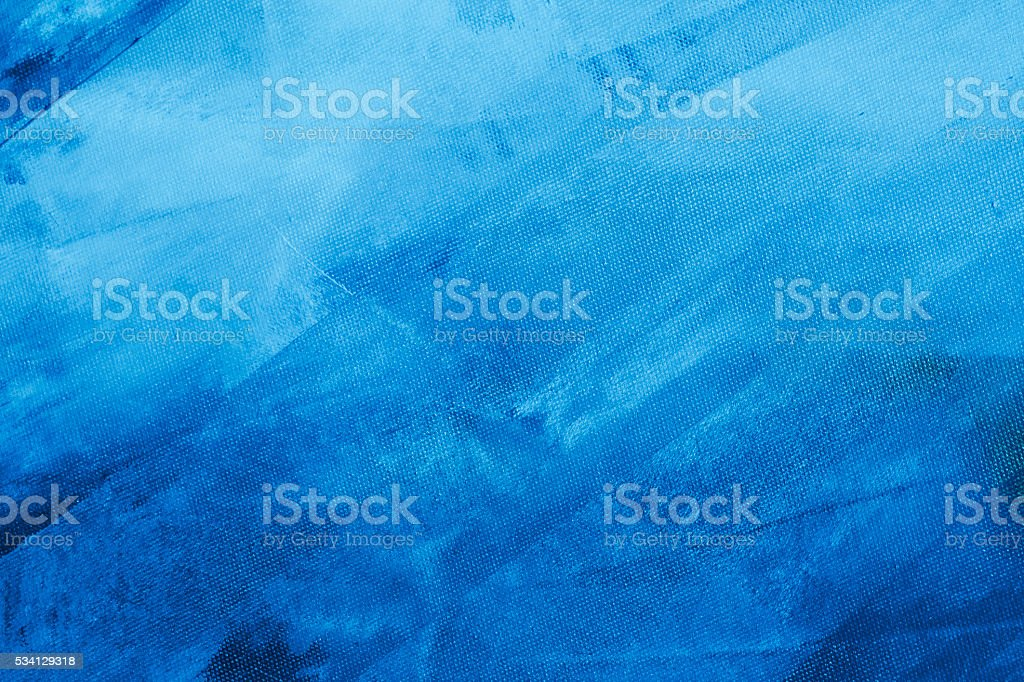 Textured blue painted background stok fotoğrafı