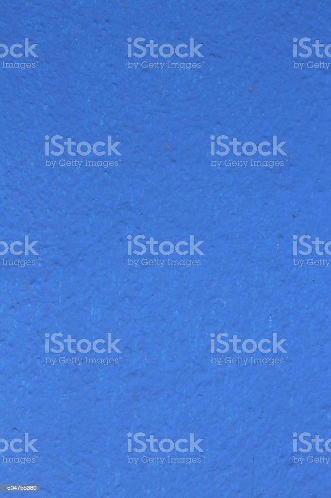 Textured  Blue Painted Wall Background stock photo