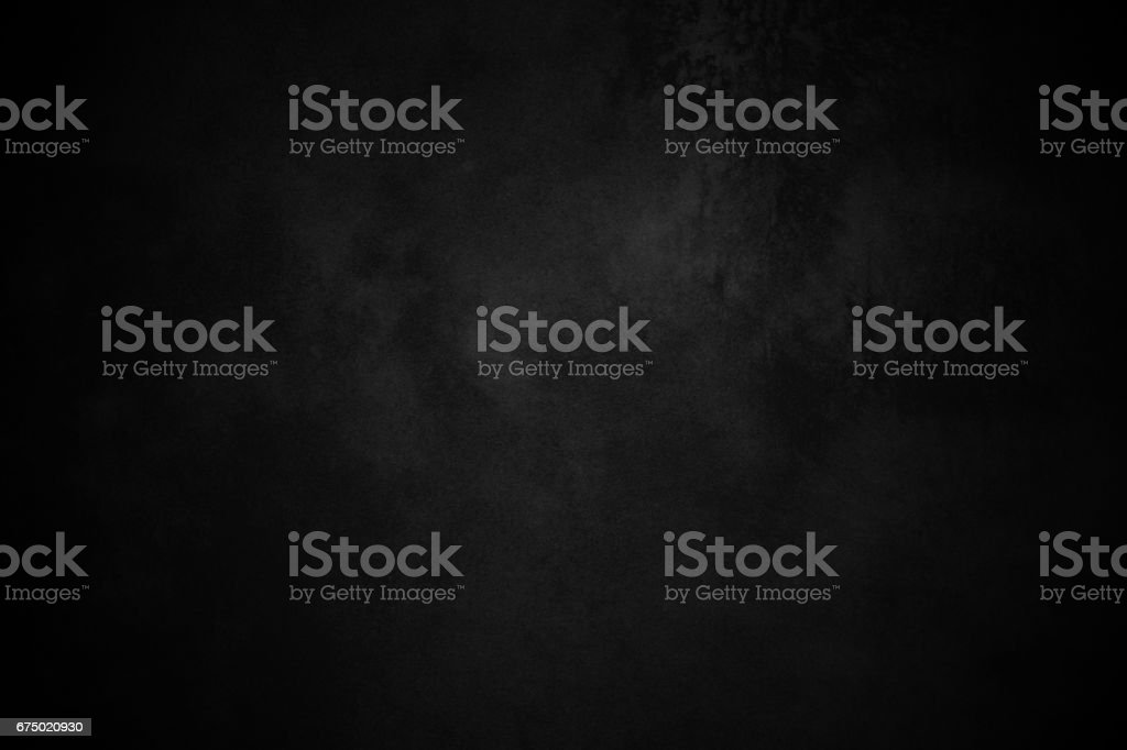 Textured Dark Vignette Black Background - foto stock