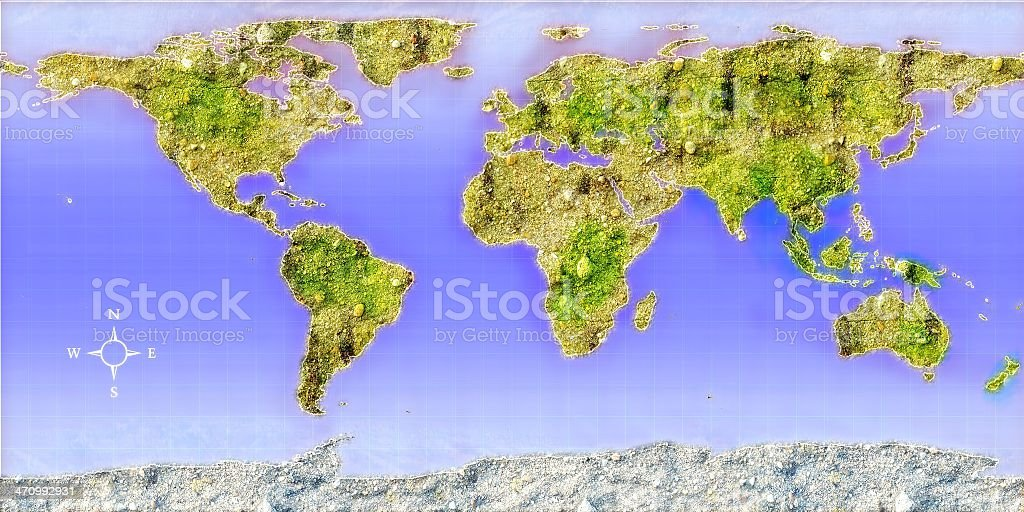 textured earth royalty-free stock photo