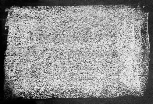 Background of dirty white texture on black.