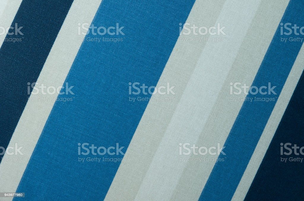 Textured Fabric Of Diagonal Strips Of White And Shades Of Blue Stock Photo Download Image Now Istock