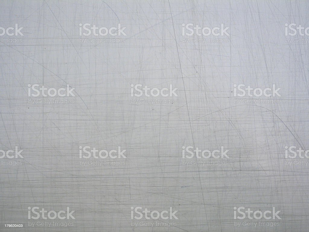 Textured flat metal with scratches and marks royalty-free stock photo