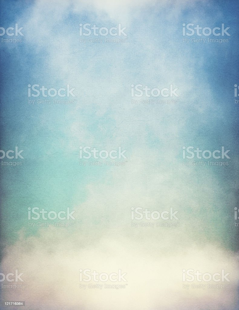 Textured Fog with Gradient royalty-free stock photo