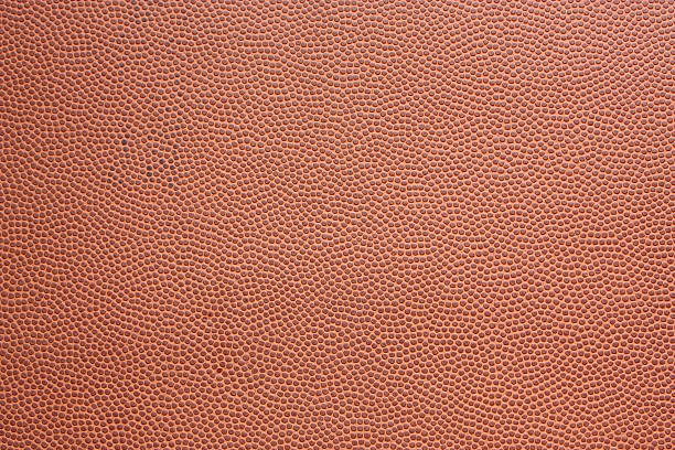 Textured Football Background stock photo