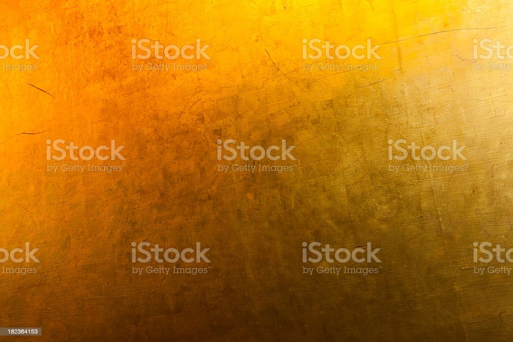 Textured Golden Background royalty-free stock photo