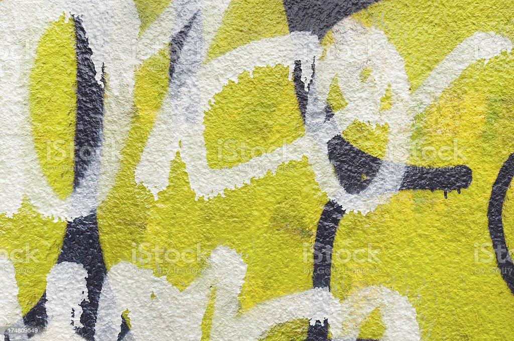 Textured graffiti surface royalty-free stock photo