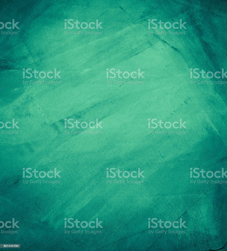 Textured green painted background stock photo