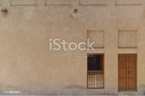 istock Textured Middle Eastern Facade 1141061042