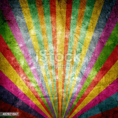 Colorful paper background with stripes