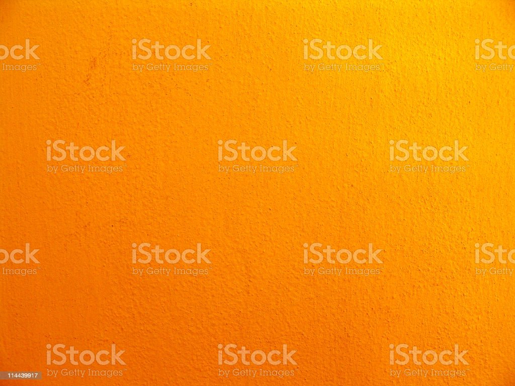Textured multishaded orange wall stock photo