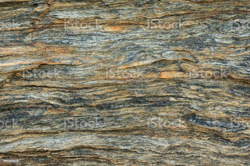Structuur van de rots. - Royalty-free Afbeelding Stockfoto