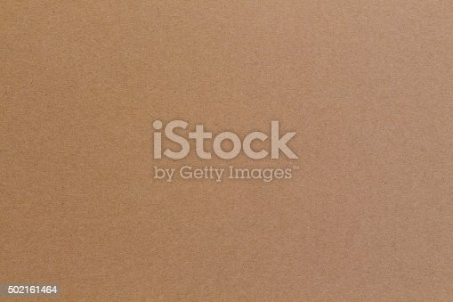 istock Textured Paper ,Flat brown cardboard background texture 502161464