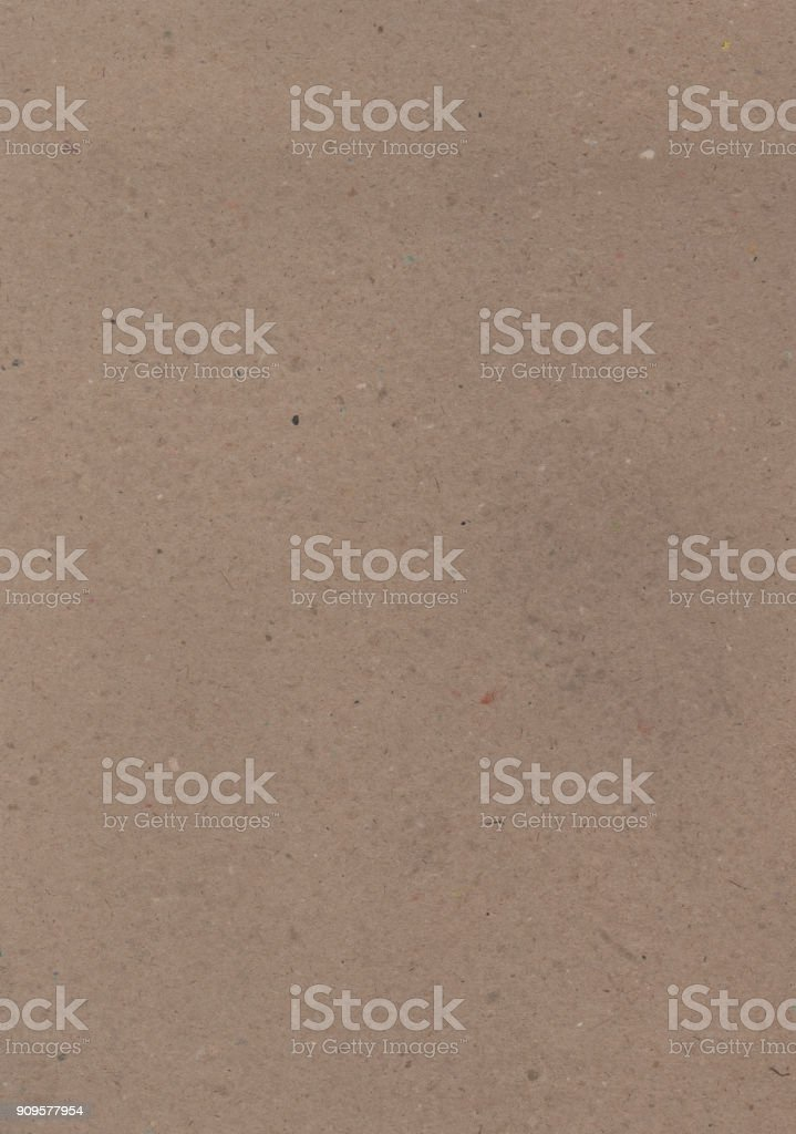 Textured paper - recycled cardboard stock photo