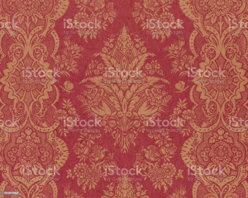 Texture di carta con decorazione antico - Foto stock royalty-free di Antico - Vecchio stile