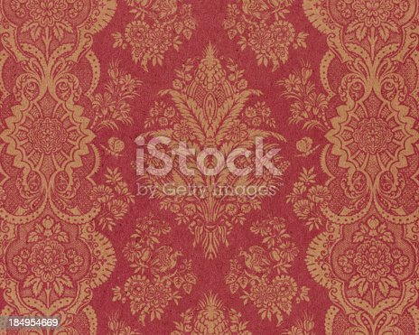 istock textured paper with antique ornament 184954669
