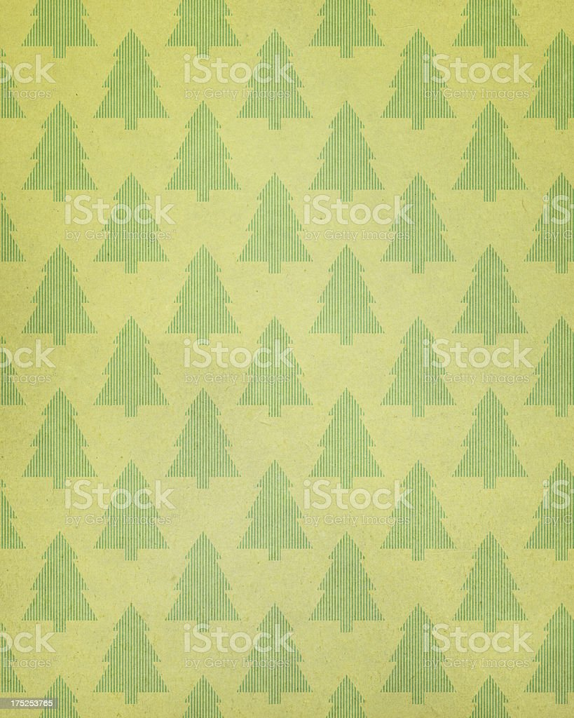 textured paper with tree pattern royalty-free stock photo