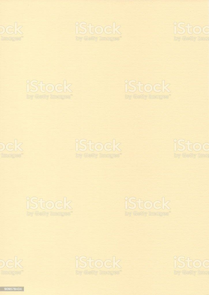 Textured paper - yellow vellum sheet stock photo