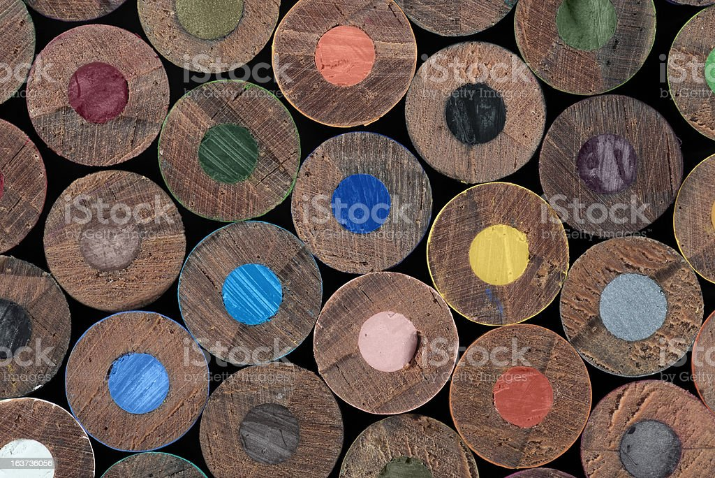Textured Pencil royalty-free stock photo
