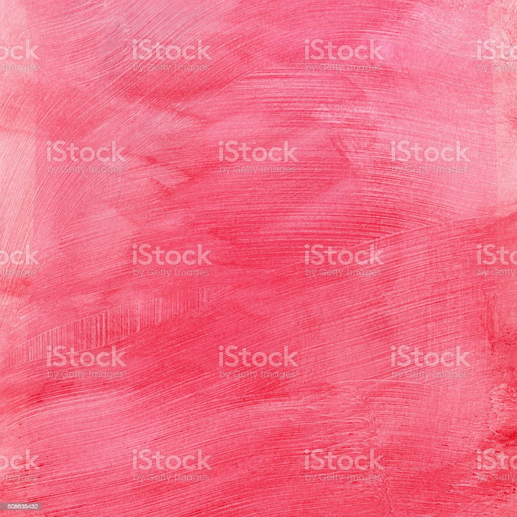 Textured pink background with brush strokes stock photo