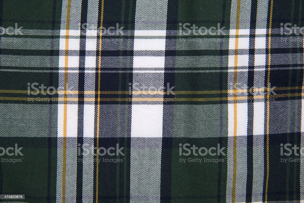 Textured Plaid Pattern stock photo