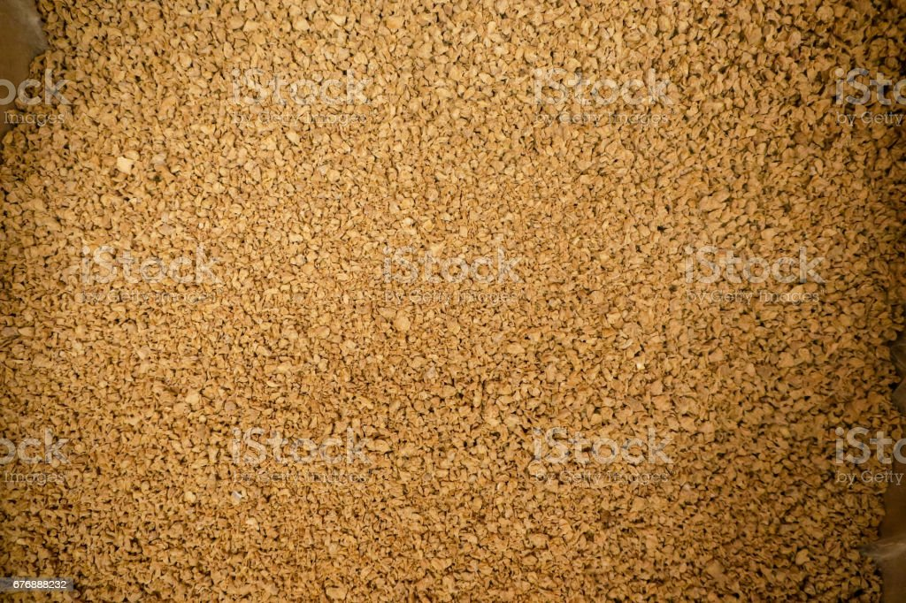 Textured protein stock photo