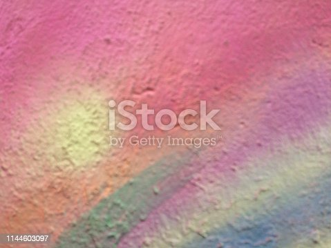 887755698istockphoto Textured rainbow painted background 1144603097
