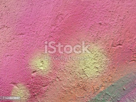 887755698istockphoto Textured rainbow painted background 1144603692