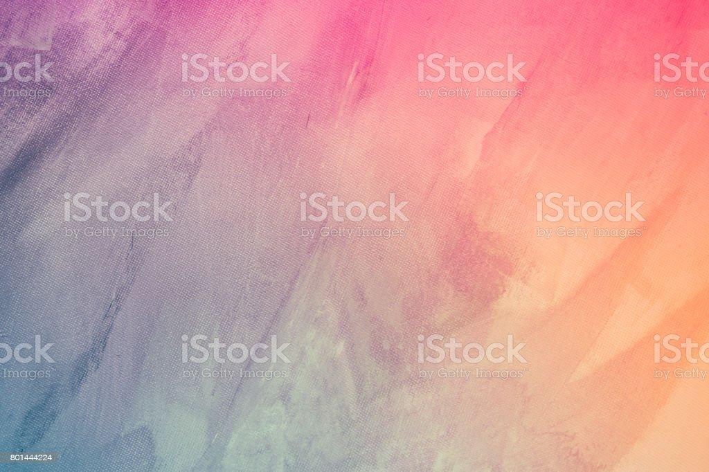 Textured rainbow painted background stock photo