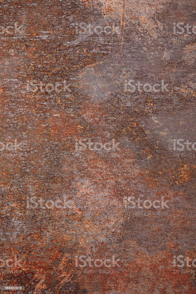 Textured rusty metal background royalty-free stock photo
