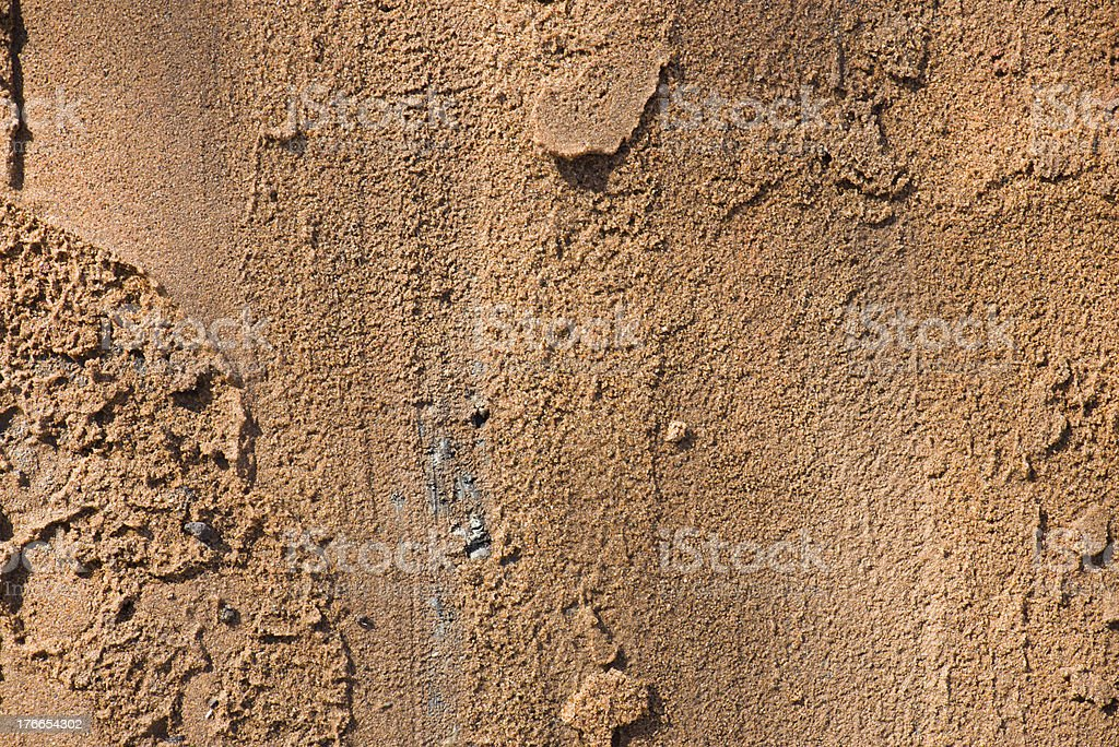 Textured sand background royalty-free stock photo