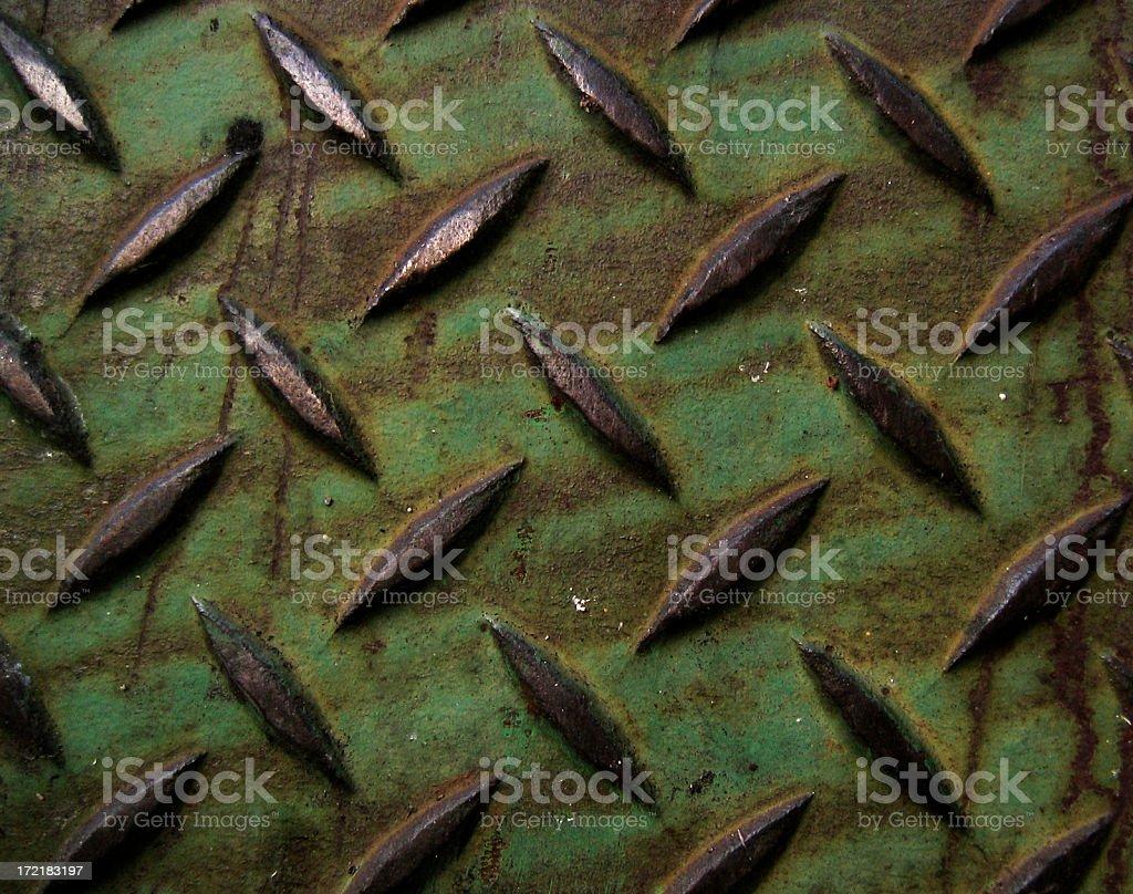 Textured Sheet Metal stock photo