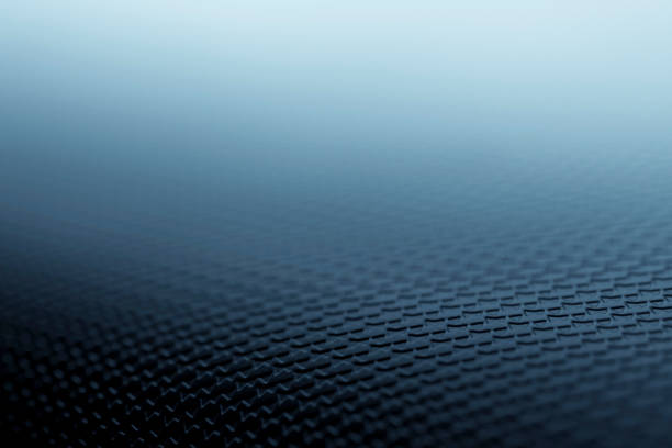 Textured silver blue background stock photo
