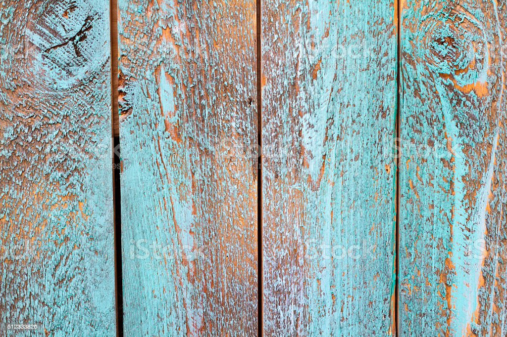 Textured Turquoise Background Distressed Paint On Old Wood Stock Photo More Pictures Of