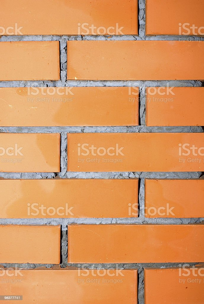 textured wall of breaks royalty-free stock photo