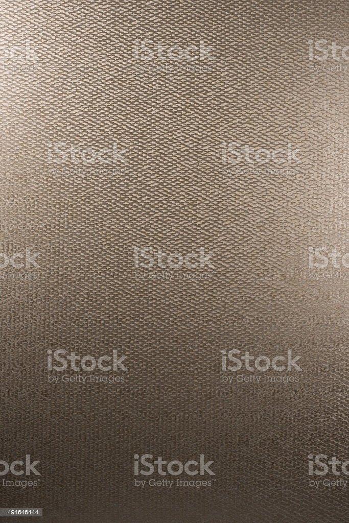 Textured Wallpaper Swatch - Brass stock photo