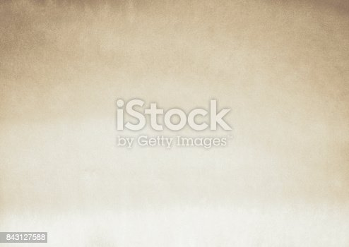 istock Textured Watercolor Beige Brown Sepia Toned Abstract 843127588