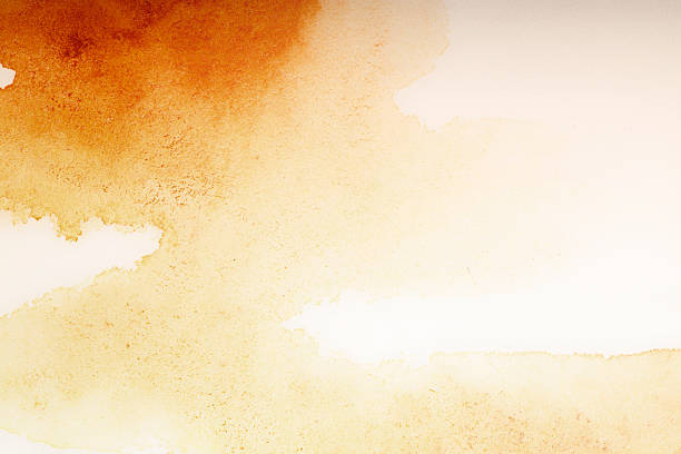textured watercolor painting backgrounds rustic stained - 懷舊色調 個照片及圖片檔