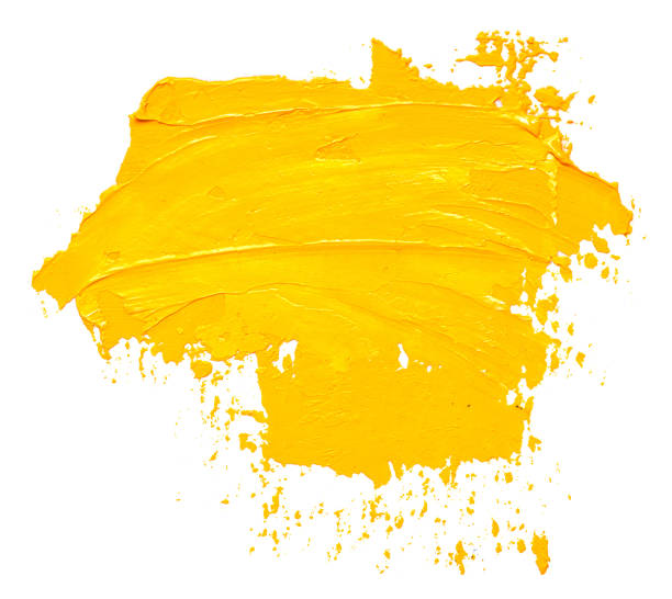 Textured yellow oil paint brush stroke isolated on white background picture id1126458446?b=1&k=6&m=1126458446&s=612x612&w=0&h=9zzjnoqcc4tlirmem ivxklfvb9js0jubq x8ofq1jo=