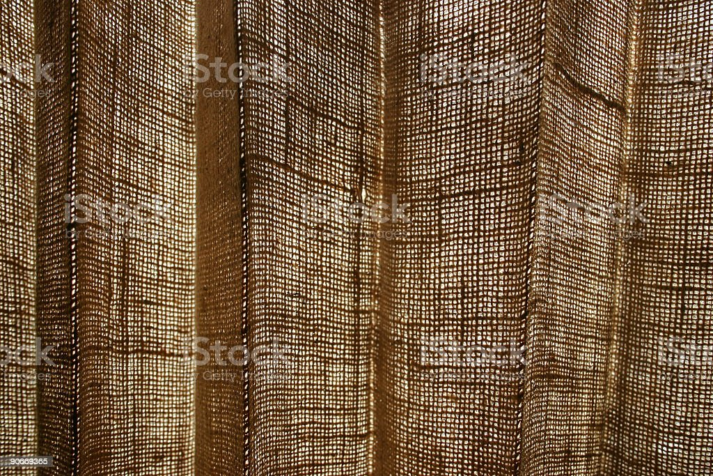 Textures, Burlap royalty-free stock photo
