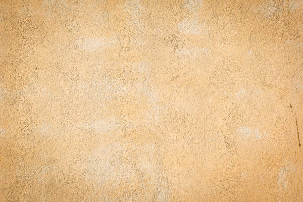 Textures of the beige wall. stock photo