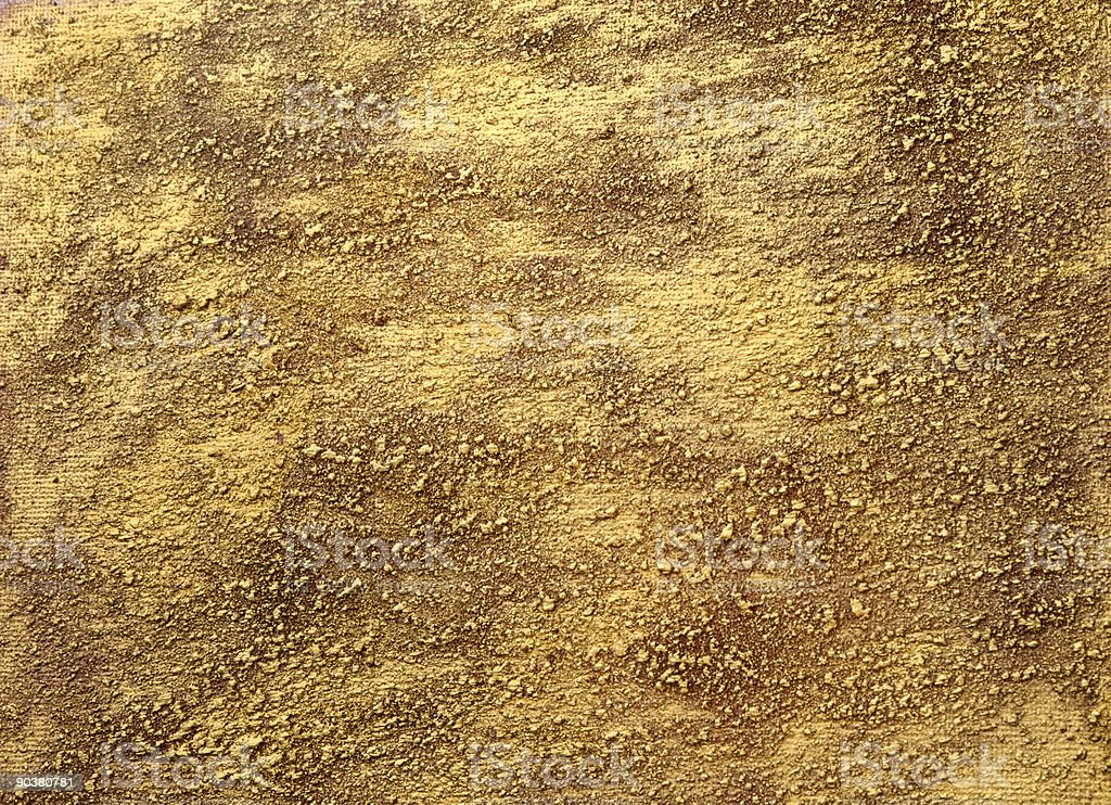 Texured gold stock photo